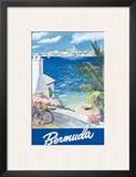 Bermuda Travel Poster c.1950s Prints