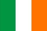 Ireland Flag Plastic Sign Znaki plastikowe