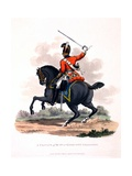 Uniform of a Private of the 3rd or King's Own Dragoons, from 'Costume of the British Empire,… Giclee Print by Charles Hamilton Smith