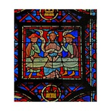 Window W8 the Resurrection Cycle - the Supper at Emmaus Giclee Print