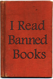 I Read Banned Books Plastic Sign Plastic Sign