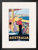 Australia Beach c.1929 Posters by Percy Trompf