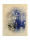 Light-Towers of La Hève, C.1844 Giclee Print by Joseph Mallord William Turner
