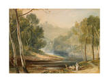 Hackfall, C.1816 Giclee Print by Joseph Mallord William Turner