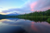 Days End at Trillium Lake, Mount Hood Photographic Print by Vincent James