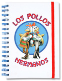Breaking Bad - Los Pollos Hermanos Notebook Lommebog