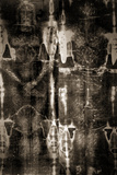 Shroud of Turin Full Image Plastic Sign Plastic Sign