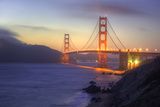 Summer Evening Golden Gate Photographic Print by Vincent James
