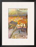 Cusco, Peru c.1950's Posters by F.C. Hannon