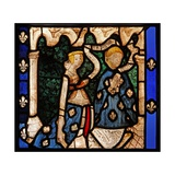 Window W9 Depicting Donors, from the Church of Betton, Britanny Giclee Print