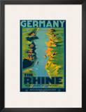 The Rhine, Germany c.1950s Art by Richard Friese