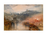 Dudley, Worcestershire, 1830-33 Giclee Print by J. M. W. Turner