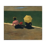 On the Beach, 1899 Giclée-Druck von Felix Edouard Vallotton