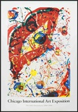 Chicago Art Fair Prints by Sam Francis