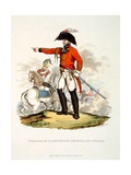 Uniform of a Lieutenant General of Cavalry, from 'Costume of the British Empire, According to the… Giclee Print by Charles Hamilton Smith