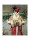 The Lady of the Snows, C.1896 Giclee Print by George Henry Boughton