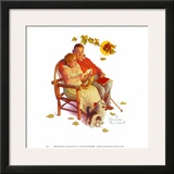 Fondly Do We Remember Prints by Norman Rockwell