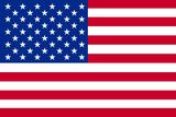 American Flag Plastic Sign Znaki plastikowe
