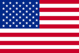 American Flag Plastic Sign Wall Sign