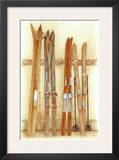 Old Skis II Prints by Laurence David