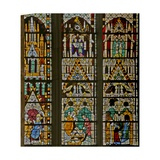 Window W17 Depicting Scenes from the Life of St Stephen and the Story of His Relics Giclee Print