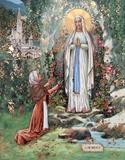 Madonna Di Lourdes Prints