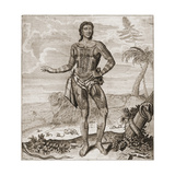 Prince Giolo from the Philippines, 1691 Giclee Print