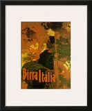 Birra Italia, c.1906 Print by Adolfo Hohenstein
