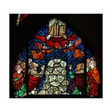 Window W14 Depicting the Ascension Giclee Print
