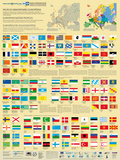 European Minority Peoples' Flags Prints