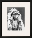 Chief Joseph Framed Giclee Print by Edward S. Curtis