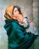 Madonna Del Riposo Print by Roberto Ferruzi