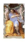 The Prophet Isaiah, 1512 Giclee Print by  Raphael
