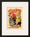 Moulin Rouge Framed Giclee Print