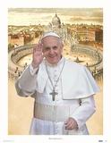 Pope Francis Lámina
