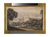View of a Town Giclee Print by Thomas Girtin