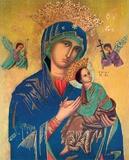 Beata Vergine Del Perpetuo Soccorso - Chiesa di S. Alfonso - Roma Posters