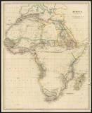 Africa, c.1834 Print by John Arrowsmith