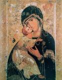 Madonna Di Vladimir - XII Secolo Print