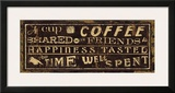 Coffee Quote III Posters