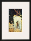 The White Cat Framed Giclee Print by Pierre Bonnard