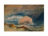 The Bass Rock, C.1824 Giclee Print by J. M. W. Turner