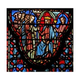 Window W4 King of Jericho Looks for the Spies Josh II 3 Giclee Print