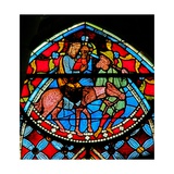 Window W102 Depicting the Flight into Egypt Giclee Print