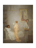 Whistler in His Studio, 1865-66 Giclee Print by James Abbott McNeill Whistler