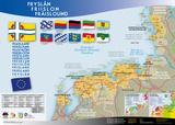 Fryslân, Friislon, Fraschlönj - Geographic Map Prints