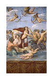 The Triumph of Galatea, C.1514 Reproduction procédé giclée par  Raphael