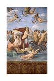 The Triumph of Galatea, C.1514 Giclee Print by  Raphael