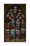 Window W113 Depicting Joseph Explaining His Dream to Potiphar Andis Accused by Potiphar Giclee Print