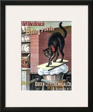 Black Cat Baking Powder Prints by Tom Captain